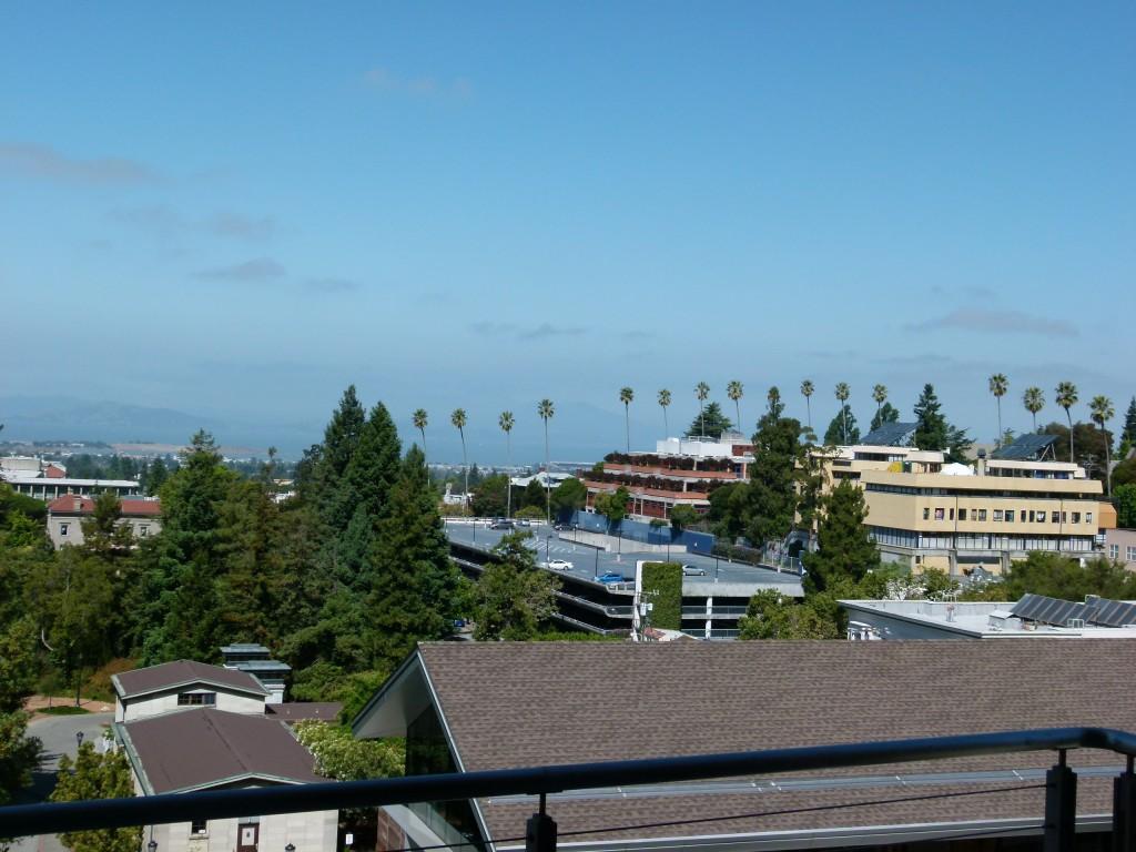 Näkymä parvekkeelta Berkeleystä