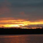 Auringonlasku Suomi