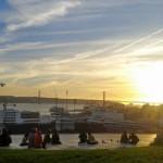 Auringonlasku Lissabon