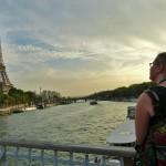 Turisti, Seine ja Eiffel-torni