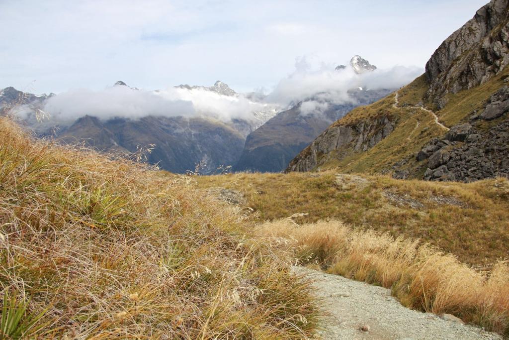 Vaellus Uusi-Seelanti