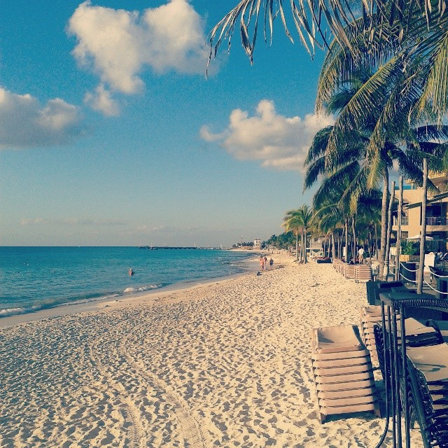 Playa del Carmen ranta