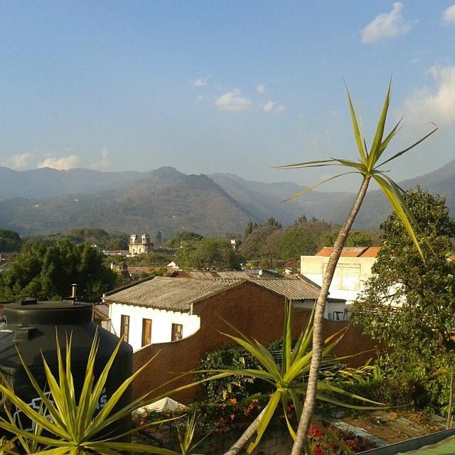 vuoret ja Antigua