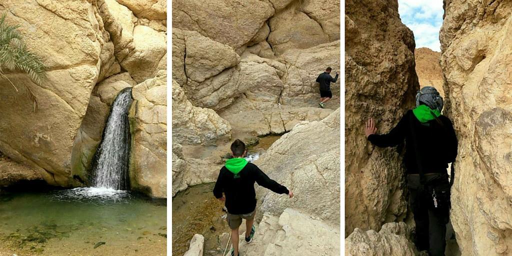Kanjonissa Tunisiassa