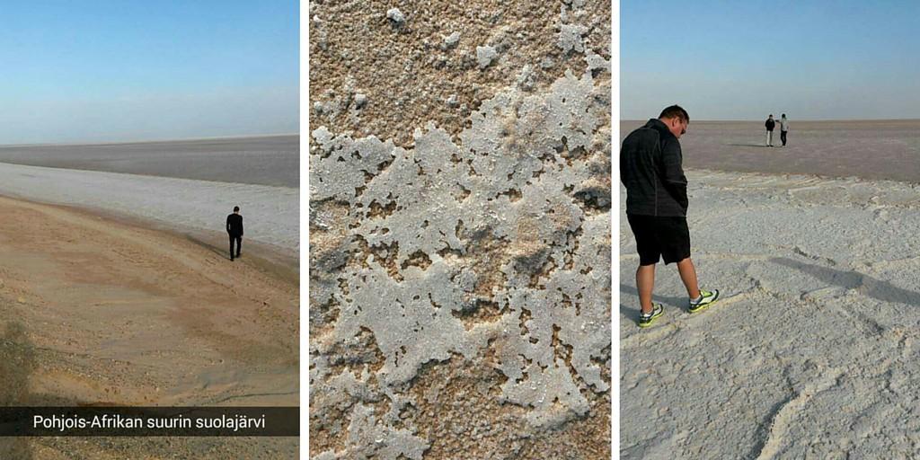 Suolajärvi Tunisiassa