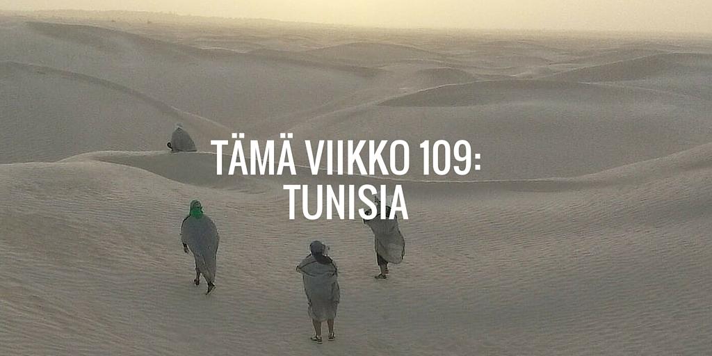 Tämä viikko 109: Tunisia
