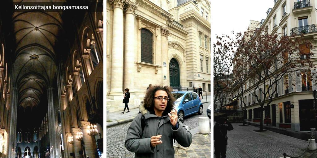 Opastettu kävelykierros Pariisissa