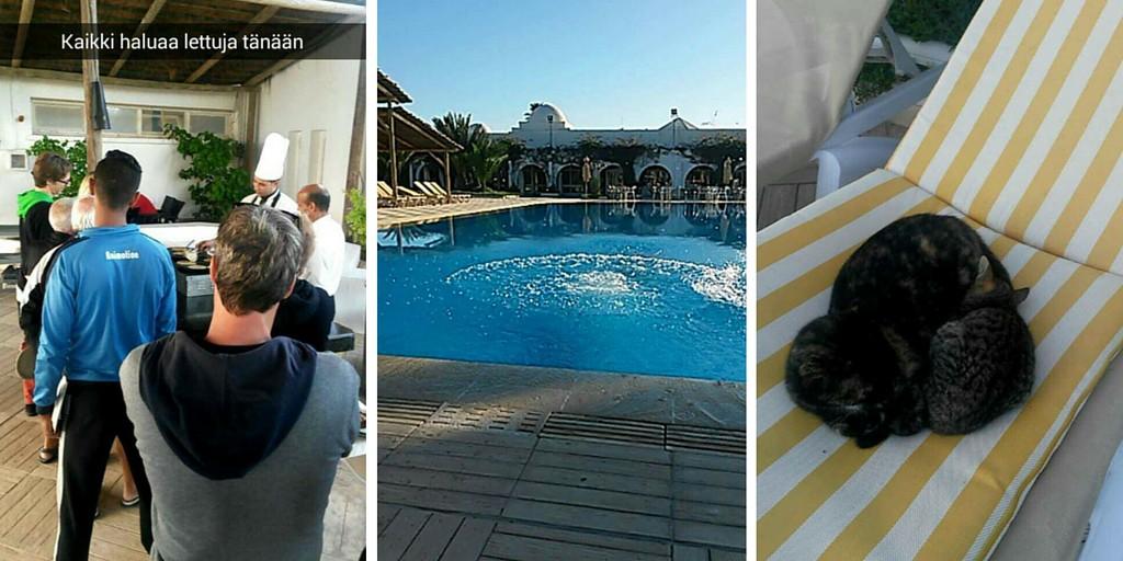 Päiväpuuhia Coworking Campilla Tunisiassa