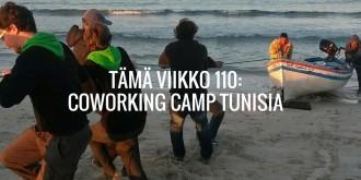 Tämä viikko 110: Coworking Camp Tunisia