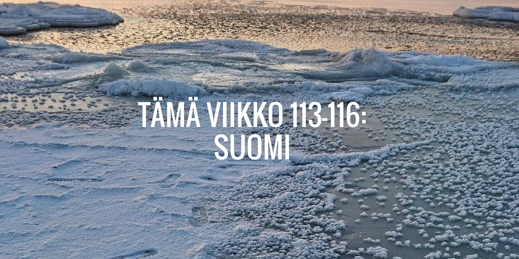 Tämä viikko 113-116: Suomi