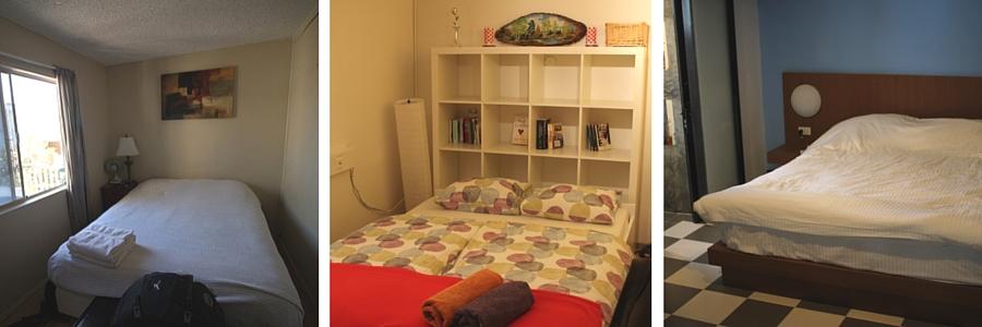 Airbnb sänkyjä