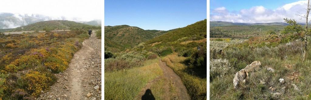 Camino de Santiago - vuorilla