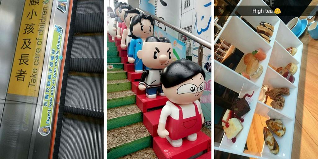 Yksityiskohtia Hong Kongissa