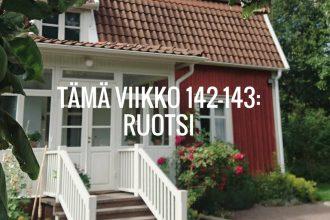 Tämä viikko 142-143: Ruotsi