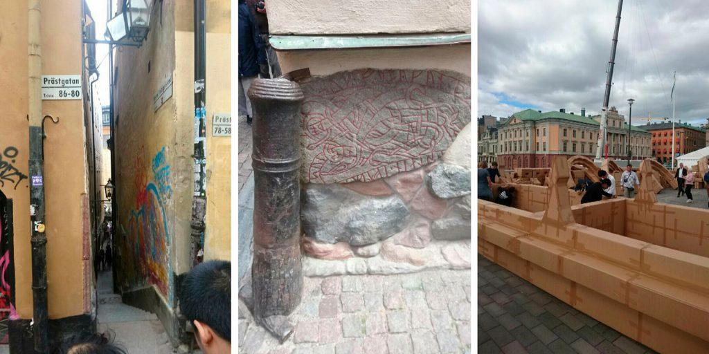 Yksityiskohtia Tukholmassa
